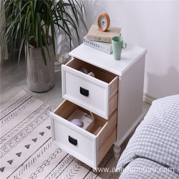 Pine Bedside Wood Cabinet Drawer Small Bedside Cabinets White Bedside Table